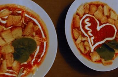 Trinta (greitai paruošiama) pomidorų sriuba