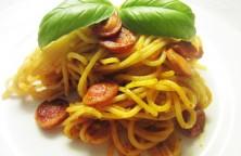 Aštrūs kepti spagečiai