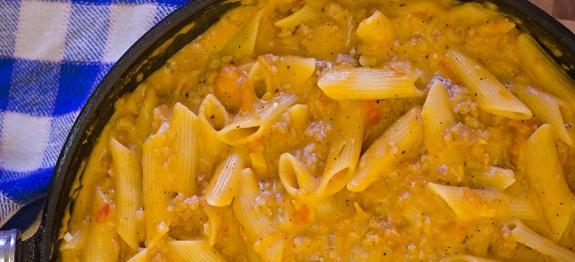 Itališki makaronai su sūriu