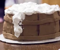 """Tortas """"Alaus bačka"""""""