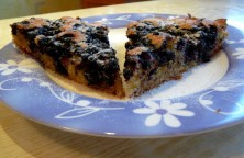 Pyragas su mėlymėmis